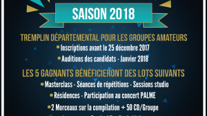 Auditions PALME 2018