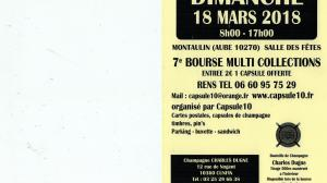 7e BOURSE MULTI COLLECTIONS MONTAULIN AUBE