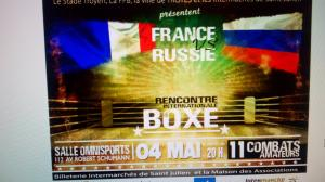 RENCONTRE INTERNATIONALE DE BOXE