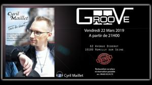 Cyril Maillet - Concert Le Groove (Romilly-sur-Seine) - 05-10-2019