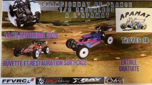 Championnat de France 1/8 Brushless à Prugny