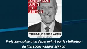 Projection film documentaire Fred Bondi, l'homme chanceux.