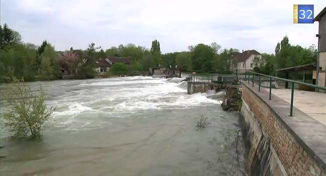 Canal 32 - Bar-sur-Seine : des dégâts relativement limités