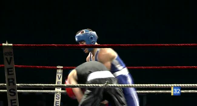 Canal 32 - Boxe : Raphaël Monny roi du ring à Beurnonville