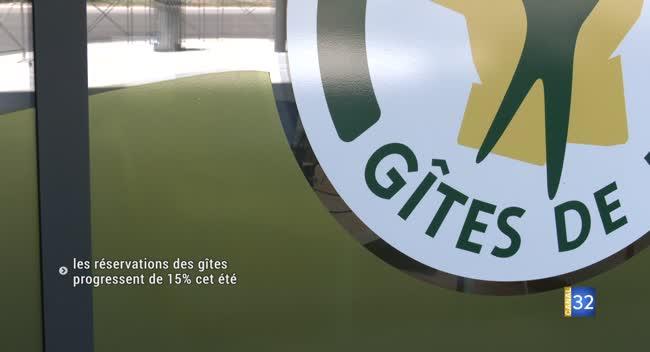 Canal 32 - Cet été, les réservations des Gîtes de France progressent de 15 % dans l'Aube