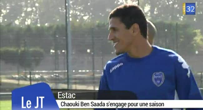 Canal 32 - Chaouki Ben Saada s'engage pour une saison à l'Estac