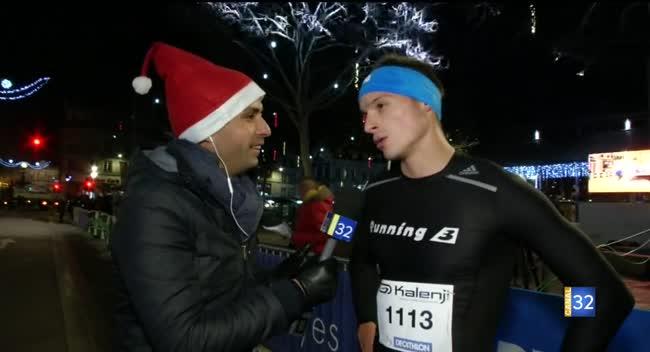 Canal 32 - Corrida de Noël : interview du vainqueur