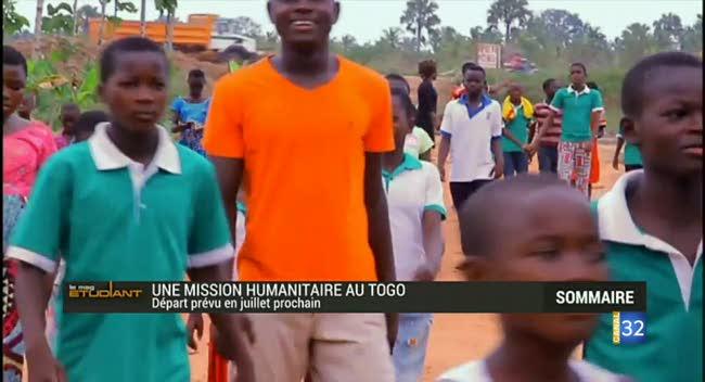 Canal 32 - Coup de jeune : un projet de mission humanitaire au Togo