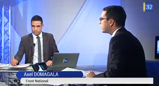 Canal 32 - Départementales : réaction Axel Domagala (St-André)