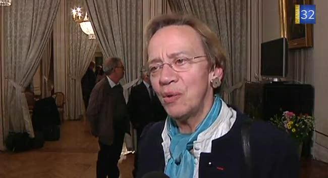Canal 32 - Départementales : réaction d'Elisabeth Philippon (Troyes 1)