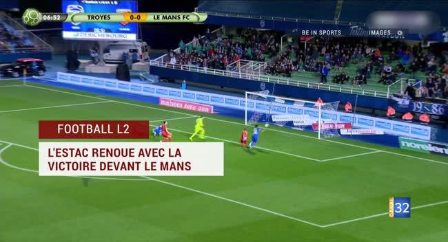 Canal 32 - Dimanche sports du 20 octobre