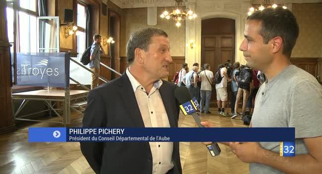 Canal 32 - Djibril Sidibé et Blaise Matuidi à Troyes : la réaction de Philippe Pichery