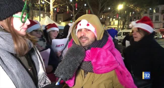 Canal 32 - Corrida de Noël: de drôles de chorales !