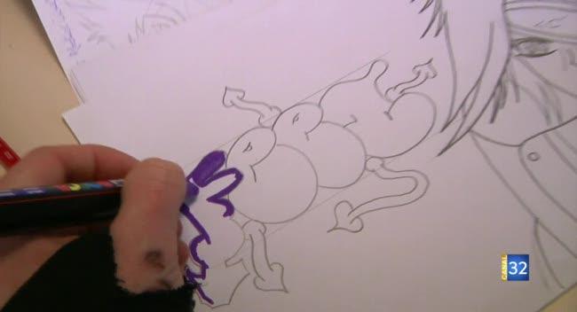 Canal 32 - Du graffiti pour dessiner pendant les vacances