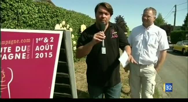 Canal 32 - En direct de la Route du Champagne 2015 : L'inauguration