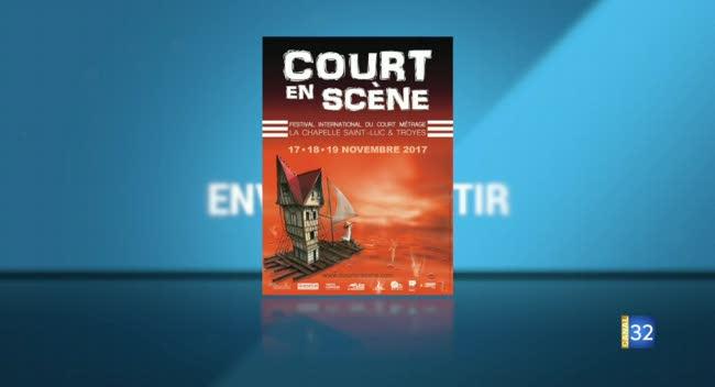 Canal 32 - Envie de sortir : Festival Court en scène, galerie L'Arrivage et agenda
