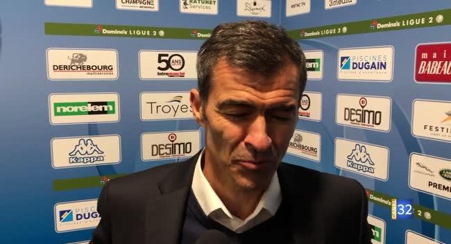 Canal 32 - ESTAC 1-0 GFC Ajaccio : la réaction de Rui Almeida