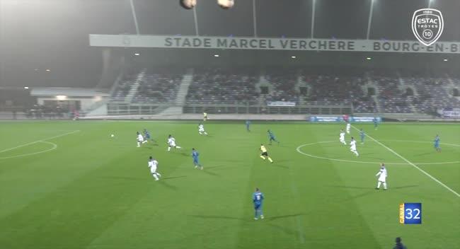 Canal 32 - Football, Coupe de France : l'Estac sortie dès son entrée en lice par Bourg-en-Bresse :1-0