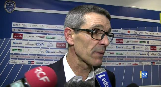 Canal 32 - Football L1, Estac - Amiens :