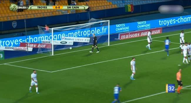 Canal 32 - Football L2 : Estac - Caen, le résumé en vidéo