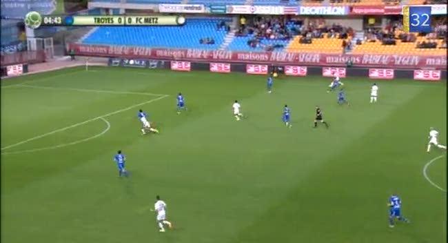 Canal 32 - Football Ligue 2, l'Estac dominée par Metz (0-1)