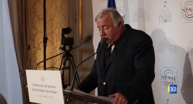 Canal 32 - Gérard Larcher s'exprime sur les défis à surmonter dans les territoires