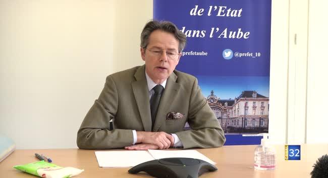 Canal 32 - Grand Format - Conférence de presse du préfet : vente de muguet, déchèterie, déconfinement progressif
