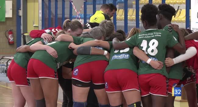 Canal 32 - Handball N2 : Christèle Gueu, la force tranquille du RSJH