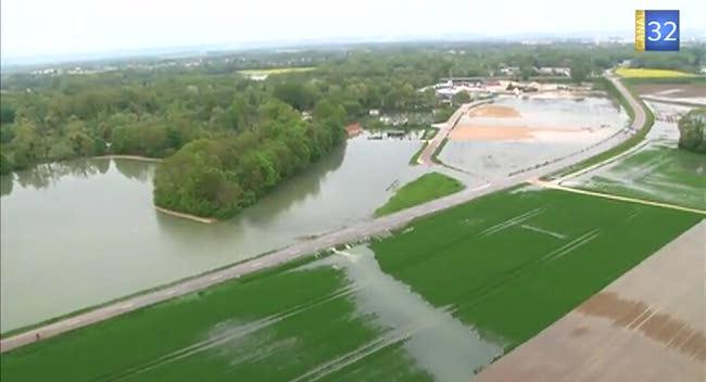 Canal 32 - Inondations : Nogent et Romilly en alerte