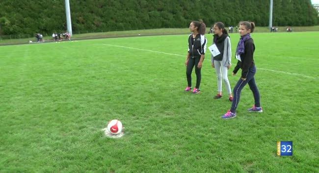 Canal 32 - Instant étudiant : un tournoi de tirs au but pour l'Assofrani