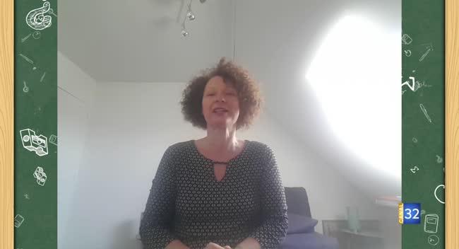 Canal 32 - Je parle à mes élèves - l'école de Longsols avec la classe CE1-CE2 de Mme Anne Monnier