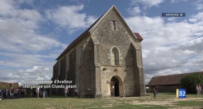 Canal 32 - La commanderie d'Avalleur réorganise son Cluedo géant