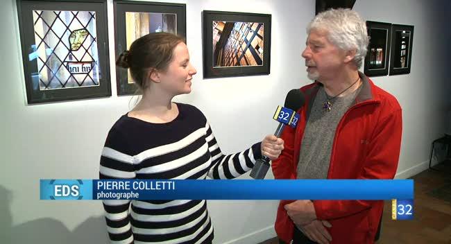 Canal 32 - La galerie de la semaine : Pierre Colletti à la Maison du Boulanger
