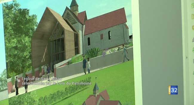 Canal 32 - Charmont-sous-Barbuise : la mission Bern soutient la restauration de l'église Saint-Alban
