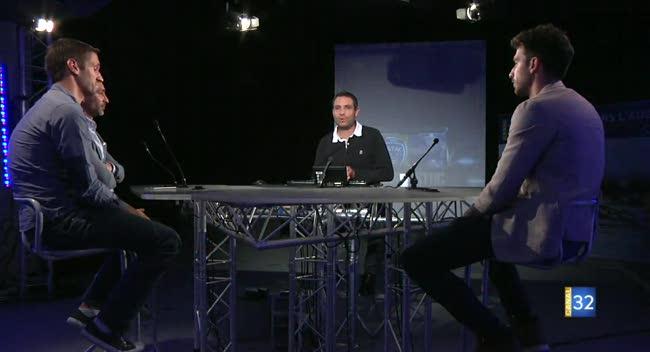 Canal 32 - L'Avant-match avant Dijon-Estac avec Mathieu Deplagne
