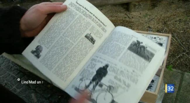 Canal 32 - Le mensuel Lino'Mad : un oeil sarcastique !