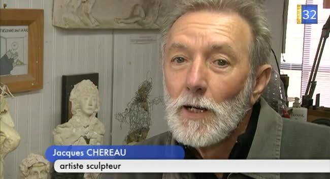 Canal 32 - Le portrait de Jacques Chéreau, artiste sculpteur
