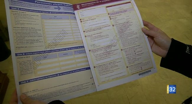 Canal 32 - Le recensement du 21 janvier au 27 février