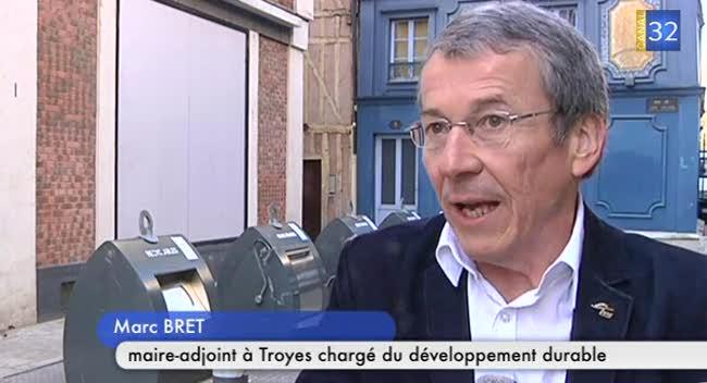 Canal 32 - Les containeurs enterrés encore mal utilisés à Troyes