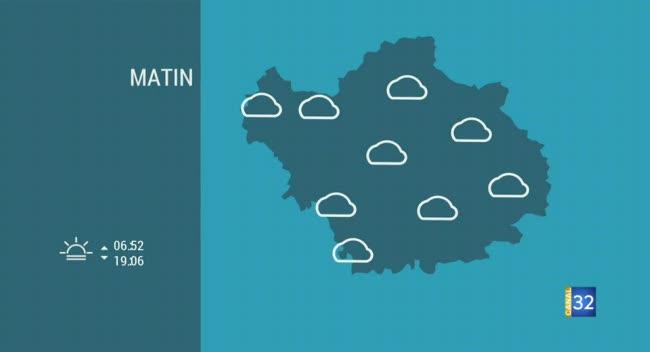 Canal 32 - Les prévisions météo pour demain