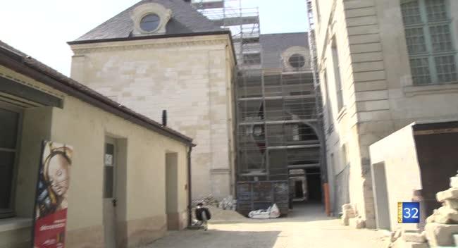 Canal 32 - Les Rencontres de la Cité du Vitrail : des découvertes à l'Hôtel-Dieu