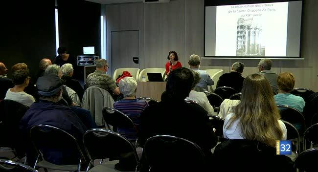Canal 32 - Les rencontres de la cité du vitrail : la restauration du vitrail au XIXe siècle