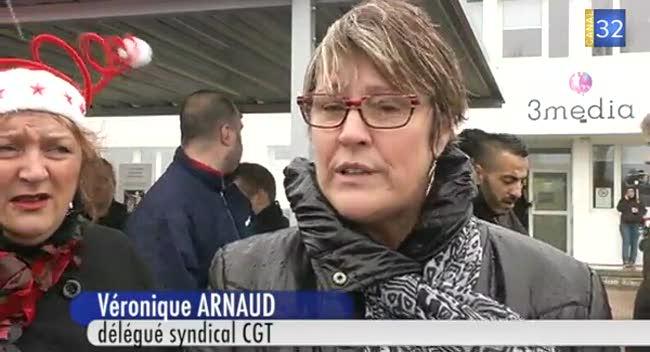Canal 32 - Les salariés de 3 Média en grève