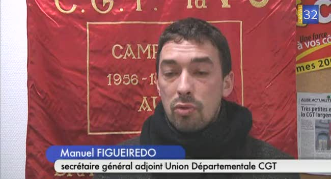 Canal 32 - Les syndicats manifestent