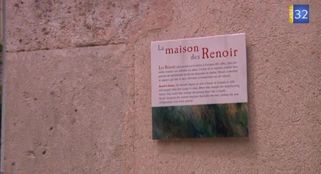 Canal 32 - L'espace Renoir à Essoyes