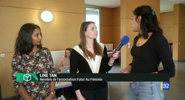 Canal 32 - L'Instant Etudiant : gros plan sur l'association Le Futur Au Féminin
