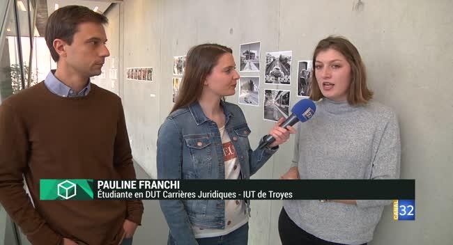Canal 32 - L'Instant Etudiant : l'English Week à l'IUT de Troyes
