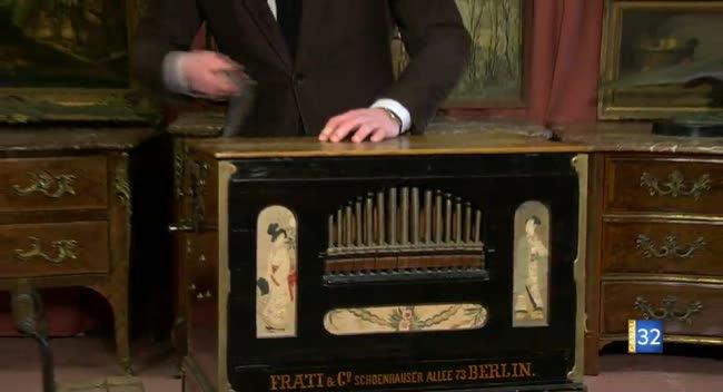 Canal 32 - L'objet d'une histoire - un orgue de barbarie du 19e siècle