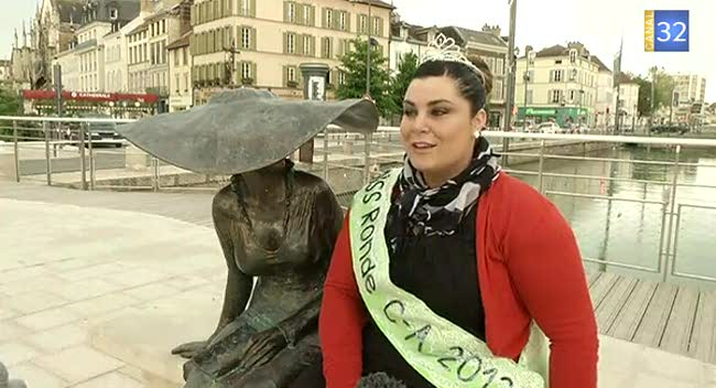 Canal 32 - Miss Ronde Champagne Ardenne 2013, une troyenne sans complexe !