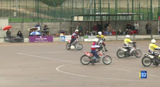 Canal 32 - Motoball : le Suma perd ses illusions contre Neuville-de-Poitou